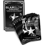 Bubble Mask - Activated Charcoal GlamGlow Bubblesheet 6-pack