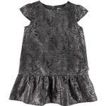 Party Dresses - Cotton Children's Clothing Wheat Hellen Dress - Dark Iron