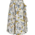 Girl - Flounce Skirts Children's Clothing Creamie Dobby Flower Skirt - Cloud (821357-1103)