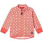 Elastic Cuffs - Fleece Jacket Children's Clothing Reima Toddler's Fleece Jacket Ornament - Bright Salmon (516480-3227)
