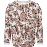 Sweatshirts - Elastan Children's Clothing Creamie Big Flowers Sweatshirt - Cloud (821335-1103)