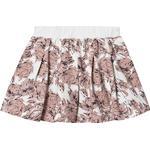 Girl - Pleated Skirts Children's Clothing Creamie Big Flower Sweat Skirt - Cloud (821360-1103)