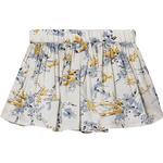 Girl - Pleated Skirts Children's Clothing Creamie Dobby Flower Skirt - Cloud (840191-1103)