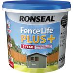 Ronseal Fence Life Plus Wood Paint Grey 5L