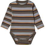 Stripes - Bodysuits Children's Clothing Yomi Body - Burnt Olive