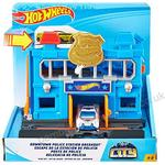 Play Set Hot Wheels City Downtown Police Station Breakout