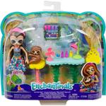 Mattel Enchantimals Slow Down Salon & Sela Sloth