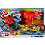 Play Set Hot Wheels T-Rex Rampage