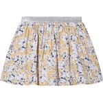 Girl - Pleated Skirts Children's Clothing Creamie Outline Flower Skirt - Rattan (821354-3031)