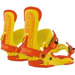 Snowboard Bindings - Yellow Union DDC