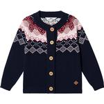 Cardigans - 18-24M Children's Clothing ebbe Kids Marcia Knitted Cardigan - Pink Intarsia