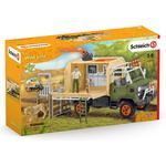 Play Set - Lion Schleich Animal Rescue Large Truck 42475