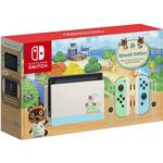 Nintendo Switch - Green/Blue - 2020 - Animal Crossing: New Horizons Edition