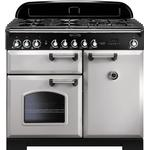 Rangemaster Classic Deluxe 100 Dual Fuel Silver