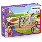 Play Set - Cats Schleich Horse Club Mia's Vaulting Set 42443