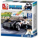 Construction Kit - Police Sluban Patrol Car M38-B0638D