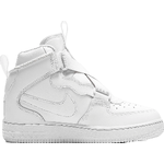 White air force Children's Shoes price comparison Nike Air Force 1 Highness PS - White/White/White