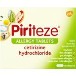 Asthma- & Allergy Products Piriteze Allergy 10mg 30pcs