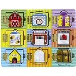 Childrens Board Games Melissa & Doug Magnetic Hide & Seek Board