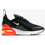 Nike Older Kid's Air Max 270 - Black/Total Orange/Dark Smoke Grey/Ghost Green