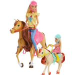 Doll Pets & Animals - Fabric Barbie Dolls Horses and Accessories