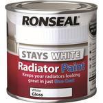 Radiator Paint Ronseal One Coat Radiator Paint White 0.25L
