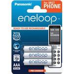 NiMH - Camera Batteries Panasonic Eneloop AAA 3-pack