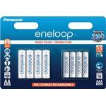 Panasonic Eneloop AA/AAA 8-pack