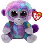 Soft Toys - Monkey TY Beanie Boos Zuri Multicolored Monkey 15cm