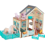 Dollhouse Accessories on sale Kidkraft Sweet Meadow Horse Stable