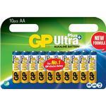 Alkaline - Camera Batteries GP Batteries Ultra Plus Alkaline AA 10-pack