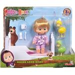 Doll Bed - Plasti Simba Masha Goes to Sleep