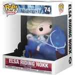 Frozen - Figurines Funko Pop! Rides Frozen Elsa Riding Nokk