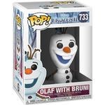Frozen - Figurines Funko Pop! Frozen Olaf with Bruni