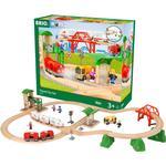 Train - Wood Brio Travel City Set 33831