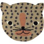Rugs Kid's Room OYOY Mini Leopard Rug 84x94cm