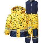 Yellow - Rain set Children's Clothing Didriksons Boardman Printed Kid's Set - Pollen Yellow Terazzo (503018-816)
