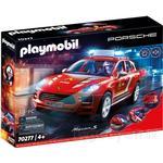 Toy Car - Lights Playmobil Porsche Macan S Fire Department 70277