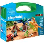Play Set - Dinosaurie Playmobil Dino Explorer Carry Case 70108