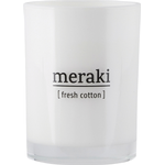 Scented Candles Meraki Fresh Cotton Large Scented Candles