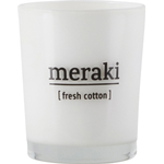 Scented Candles Meraki Fresh Cotton Small Scented Candles