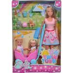 Doll Vehicles on sale Simba Steffi Love Doll Twins + Animals