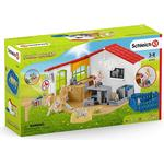 Play Set - Cats Schleich Farm World Veterinarian Practice with Pets 42502