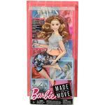 Barbie Made to Move Doll Curvy with Auburn Hair