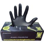Disposable Gloves - Nitrile Black Mamba Nitrile Work Gloves 100-pack