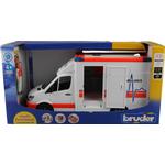 Emergency Vehicle on sale Bruder MB Sprinter Ambulance with Driver 02536
