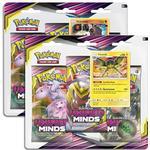 Pokémon Sun & Moon 11 Unified Minds 3 Pack Blister