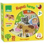 Magnetic Figures Vilac Farm Magnets 8027