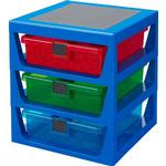 Storage Boxes - Plastic Kid's Room Room Copenhagen Lego 3-Drawer Storage Rack