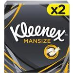 Toiletries Kleenex Mansize Facial Tissues 2-pack